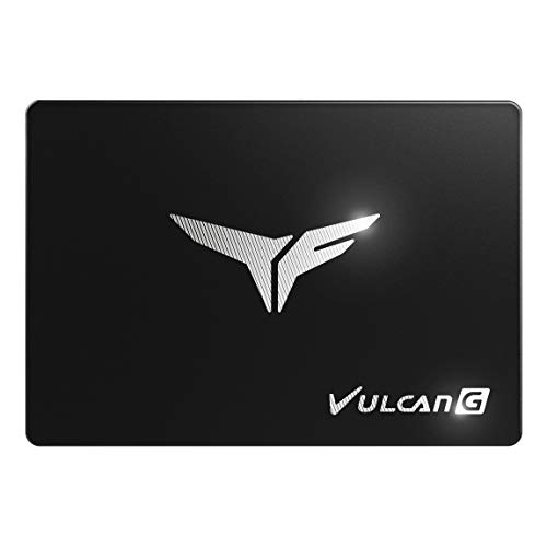 TEAMGROUP T-Force Vulcan G 1TB SLC Cache 3D NAND TLC 2.5 Inch SATA III Internal Solid State Drive SSD (R/W Speed up to 550/500 MB/s) T253TG001T3C301