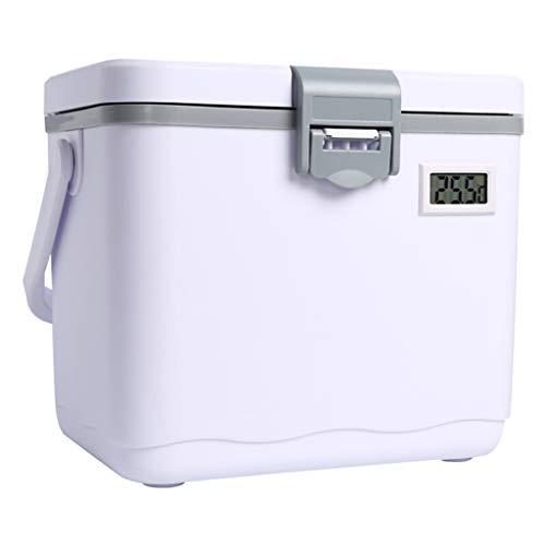 LTINN 5L 10L 15L Tragbarer kühlbox, Eiskiste Außenisolierter Hochleistungskühler mit Tragegriff Angeln Jagd Sport