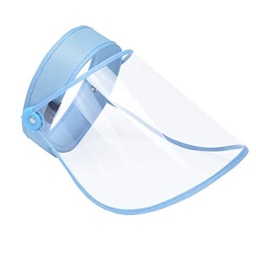RISF Anti-Spitting Anti-Aliva Anti-Beschlag Vollgesichts-Schutzkappe, winddicht, staubdicht, Augenschutz, leer Zylinder, geeignet für Outdoor-Reisen Gr. Medium, blau