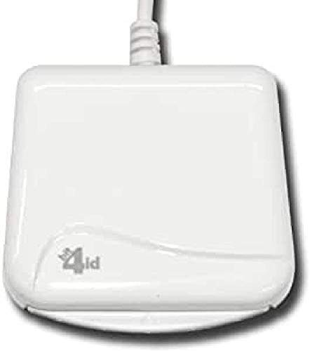 - Bit4id - Evo Indoor - Mini lector y grabador de tarjetas inteligentes, USB 2.0, color blanco, 67 x 10 x 66 mm, 50mA, 5V