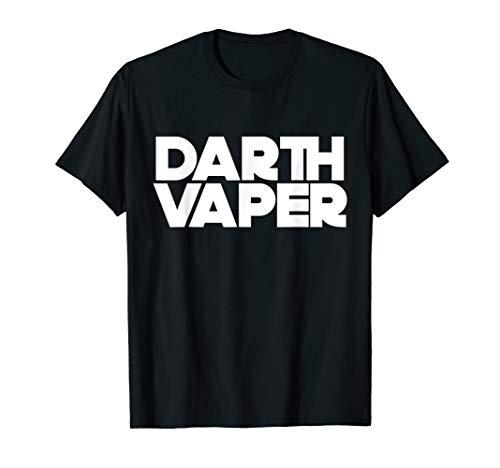 Darth Vaper Vape Life Vaping Nerd Geek Funny Joke T-Shirt