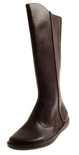 Loints 68512 Damen Elegante Lederstiefel Lederschuhe Stiefel Damenstiefel Einlagen Dunkelbraun EU 37