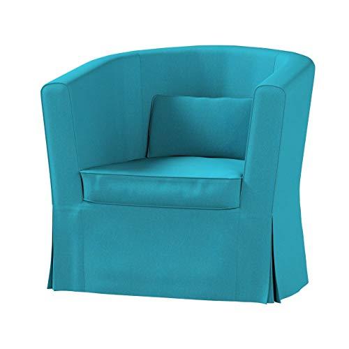 Dekoria Ektorp Tullsta Sesselbezug Sofahusse passend für IKEA Modell Ektorp türkis