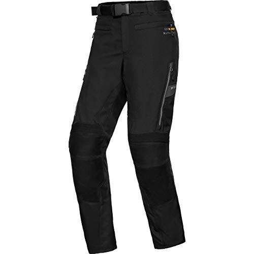 FLM Motorradhose Touren Leder-/Textilhose 4.0 anthrazit M (kurz), Herren, Tourer, Ganzjährig