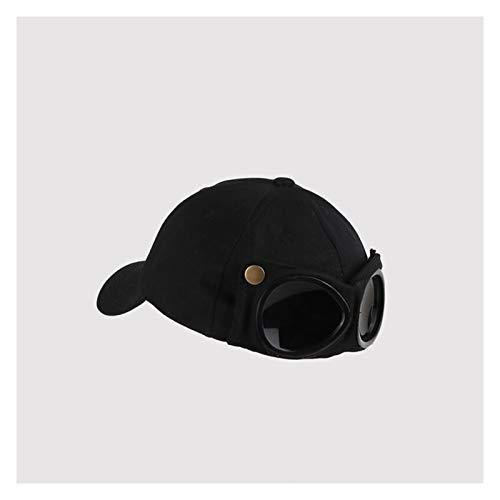 JSJJAER Cappello da Sole New Aviator Hat Estate personalità Occhiali da Baseball Cappuccio Femminile Unisex Occhiali da Sole Tappo Maschio Cappuccio Baseballcap Boys cap Essenziali per Il Viaggio