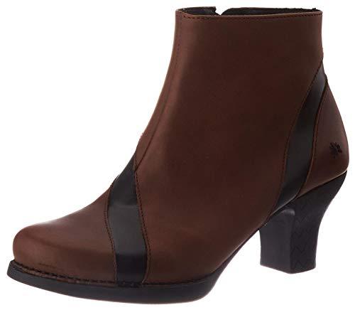 art Damen Harlem Bootsschuh, Braun-Schwarz, 42 EU