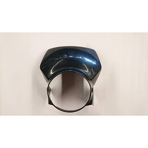 Lampenmaske für 500 ccm HONDA XL 500 R schwarz CEMOTO