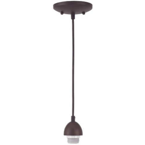 Westinghouse Lighting 70285 BRZ Mini Pendant Kit, Oil Rubbed...