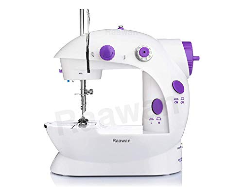 Satvikaya Multi Electric Mini 4 in1 Desktop Functional Sewing Machine for Home Stitching Machine for Home,Tailor Machines,Silai Machines&Accessories Household Sewing Machine for Home Tailoring (1)