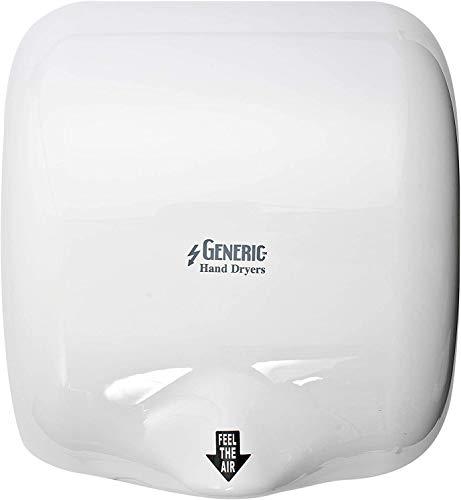 Generic Turbo Secadores de Mano | Secamanos Eléctrico | Ecológico, de Alta Velocidad y Bajo Uso de Energía | Secador de Manos Eléctrico