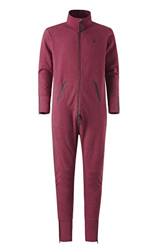 Onepiece Unisex Jumpsuit Out, Rot (Red Mel) - 4