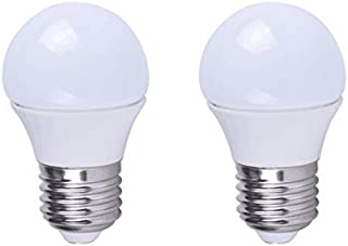 Grimaldi Lighting LED Bulb, Vibration Resistant Garage Door Bulb, 400 Lumens, 5 Watts, 2 Pack, Pure White (5000K), A15 Style Bulb, Not Dimmable, 40W Equivalent