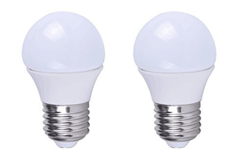 Grimaldi Lighting LED Bulb, Vibration Resistant Garage Door Bulb, 400 Lumens, 5 Watts, 2 Pack,...