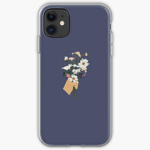 Flowers Phone Cute Laptop Stickers Cases | Phone Case for iPhone 11, iPhone 11 Pro, iPhone XR, iPhone 7/8 / SE 2020