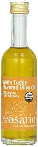 Da Rosario 100% Organic White Truffle Flavored Olive Oil,...
