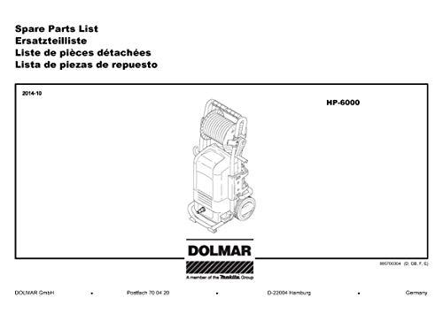 Dolmar 609082130-7211 waterfilter, origineel vervangend onderdeel HP-6000