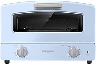 Tubo Mini Horno eléctrico del hogar doble vidrio de cuarzo de calefacción Cajón Tipo Net y la parrilla de cocción 1000w banco Fuentes Top Horno azul y rosa hsvbkwm