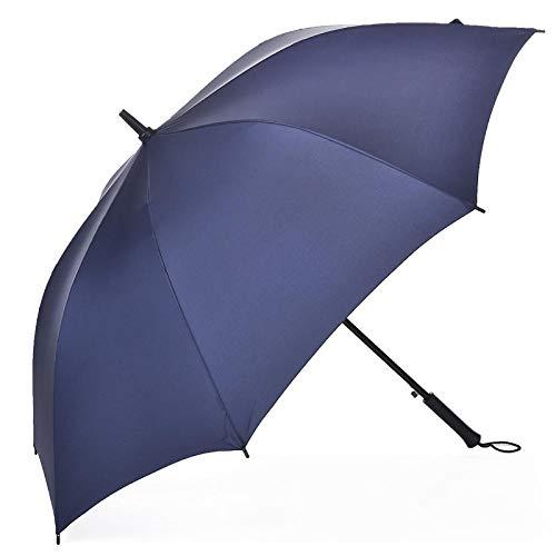 Auf Zu Automatik Schirm Mit Auf Regenschirm Mit Gerader Stange Und Langem Griff, Erhöhter Stahlknochen, Winddichter Schutz Vor Regen, Regenschirm Für Werbegeschenke