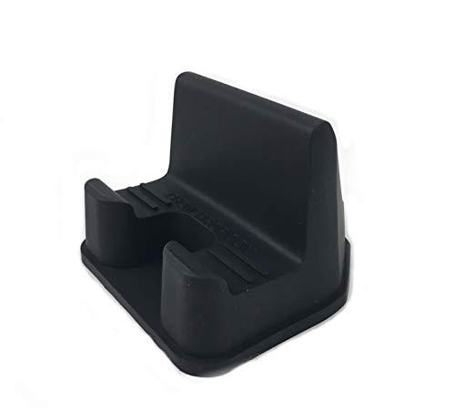 PhoneProp Soft Flexible Universal Fit Smartphone Stand FDA Grade Non-Slip Silicone - Black