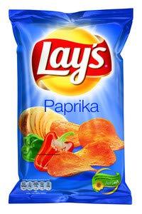Lay's chips paprika 175 gr | 8x | Gesamtgewicht 1400 gr