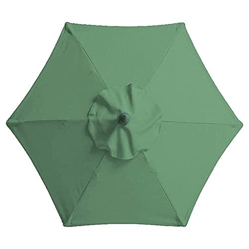 Sonnenschirme 6.7FT / 2M Ersatz-Baldachin für Sonnenschirm, Ersatz-Baldachin für Garten-Sonnenschirm, Ersatz-Polyester-Leinwand, Dach für Sonnenschirm, Ersatzstoff für Strandschirm ( Color : D )