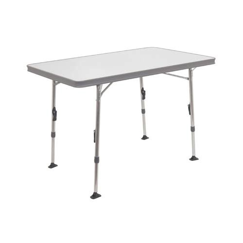 Crespo AL/245-09G - Mesa Aluminio 80x60x70 pderfil Aluminio Reforzado, Color Gris Antracita