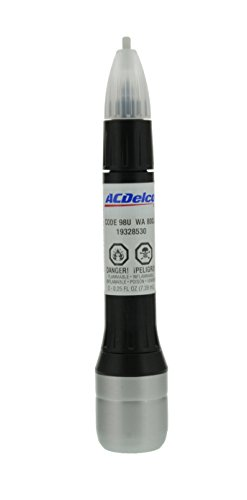 ACDelco 19367784 White Diamond (WA800J) Four-In-One Touch-Up Paint, 0.5 oz Pen (Packaging May Vary)