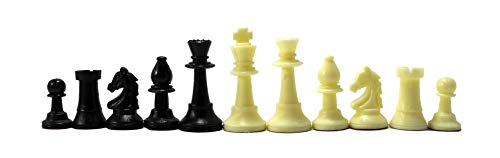 StonKraft - Tournament Chess Pieces (with Two Extra Queens) Chessmen Staunton Coins (4 Inch King Height)