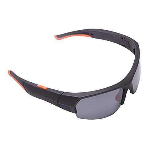 Goodde Bluetooth Sonnenbrille Action Kamera, 32G 1080P Brille Camcorder, Videorecorder mit Kopfhörern, Anrufe entgegennehmen, Musik hören, Digitale Brille zum Fahren