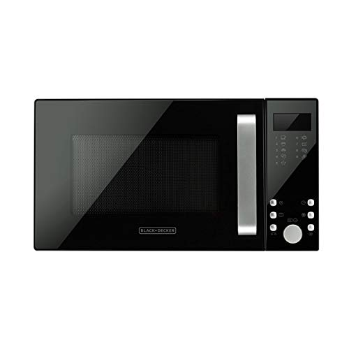 Black+Decker BXMZ900E Mikrowelle 23 Liter, 18/10 Steel