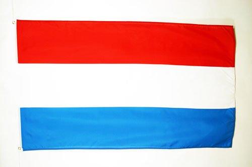AZ FLAG Flagge Luxemburg 90x60cm - LUXEMBURGISCHE Fahne 60 x 90 cm - flaggen Top Qualität