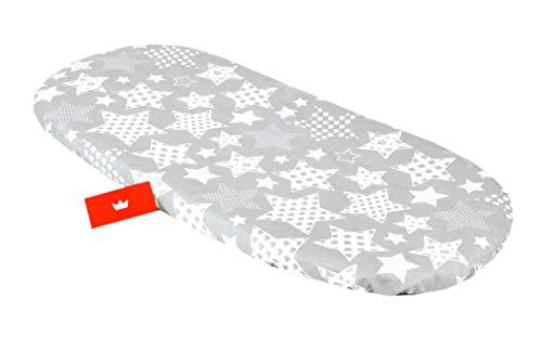 BABYLUX Spannbettlaken für Kinderwagen Stubenwagen Baby Spannbetttuch Wiege Stuben Bettlaken (96. Sternbild)