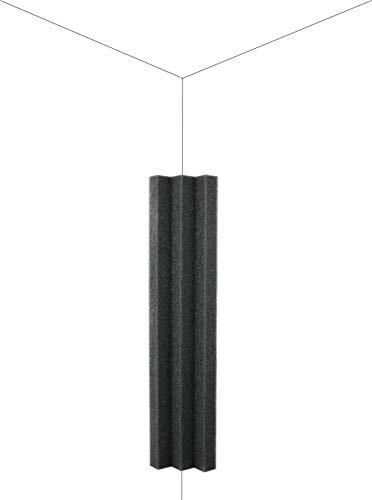 New Level Column Acoustic Wedge Studio Foam Corner Block...