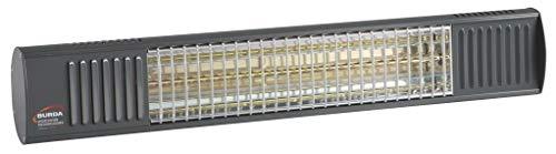 Burda URCAC200V7016, Heizstrahler IP67 2,0 kW anthrazit LG