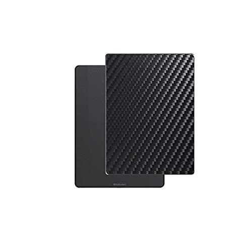 Vaxson 2 Unidades Protector de pantalla Posterior, compatible con Kobo Glo HD (N437) / Touch 2.0, Película Protectora Skin Piel Negro [No Carcasa Case ]