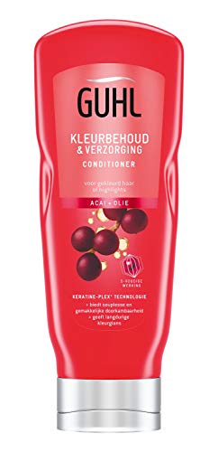 Guhl Kleurbehoud & Verzorging Conditioner - met Acai + Olie - voor gekleurd haar of highlights - 200 ml