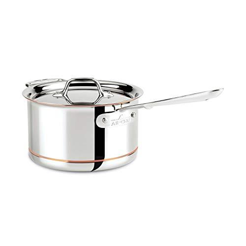 4-Quart Sauce Pan, All-Clad Copper Core
