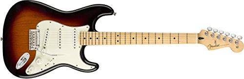 Fender エレキギター Player Stratocaster®, Maple Fingerboard, 3-Color Sunburst