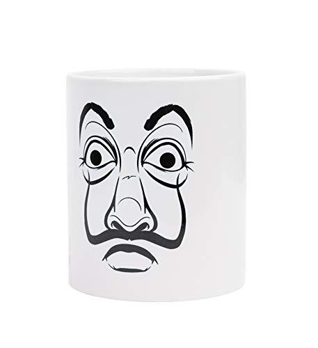 Erik Tasse Haus des Geldes Maske - Tasse Kaffeebecher Tasse Kaffee und Tee Dali Maske