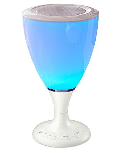 TCM Tchibo Bluetooth Lautsprecher mit LED Stimmungslicht Farbwechselnd