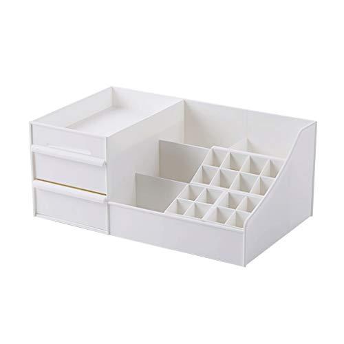 OMING Schmuckkästchen für Kosmetika, Schreibtisch-Aufbewahrungsbox für Lippenstift, Maske, Augenbrauen, Bleistift, Make-up-Pinsel, Aufbewahrungsbox für Schmuck