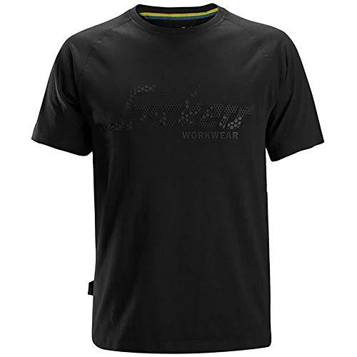 Snickers Workwear 2580 T-Shirt Arbeitskleidung Schwarz (L)