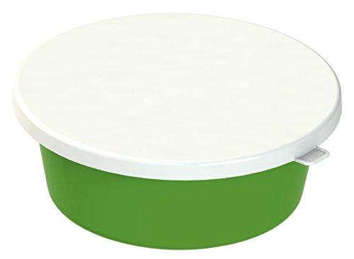 Kerbl 324820 Deckel für Futterschale, 6 L, weiß