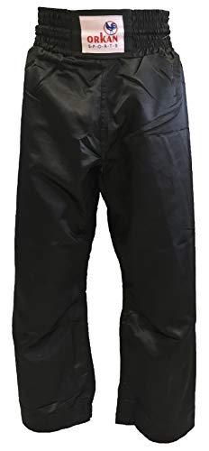 Orkan Satinhose schwarz (160)