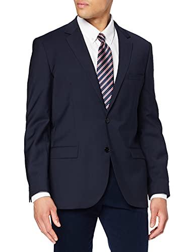 ESPRIT NOS Only ESPRIT Collection Herren Anzugsjacke Regular Fit 993EO2G902 Gr. 54 (XXL), Blau (dark navy 420)