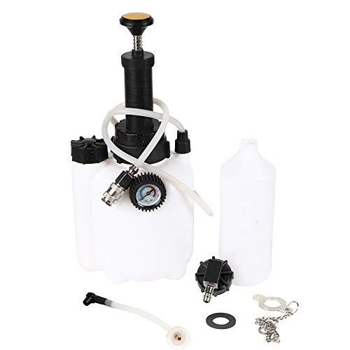 zhoul 3L Kit de Purga de Embrague y Freno de vacío neumático, Kit de Herramientas de Purga de líquido de Embrague de Freno Sistema de Purga de Herramienta de Purga de Freno neumático