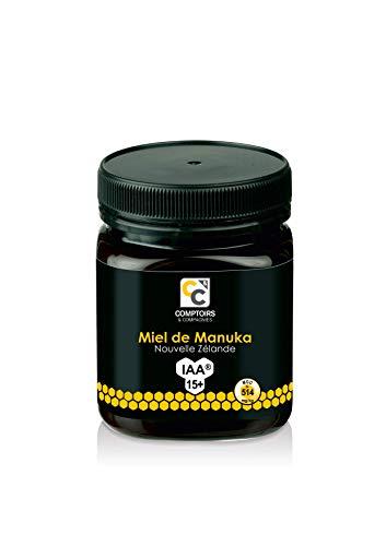 COMPTOIRS ET COMPAGNIES | MIEL DE MANUKA ACTIF | IAA15+ (MGO514+) | 250 Grammes