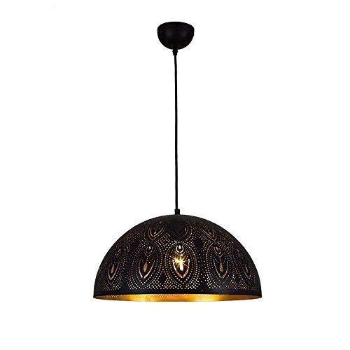 IT Pendant Light Industrial Vintage Design Nero Ombra Hanging luce di soffitto lampadario a bracci for il salone sala da pranzo camera Loft E27