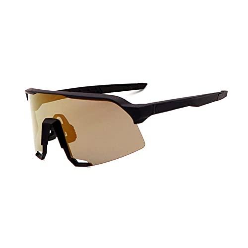 YSPS Gafas de Sol de Ciclismo polarizadas con 3 Lentes anti-UV400, Gafas Deportivas para Mujer para Hombre, Gafas de Sol de Pesca en Marcha G