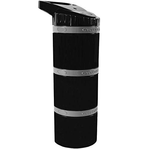 Cyclone Cup Cyclone Core Aufbewahrung Kapseln W/Clik N 'Go Pille Aufbewahrungsbox Deckel, schwarz